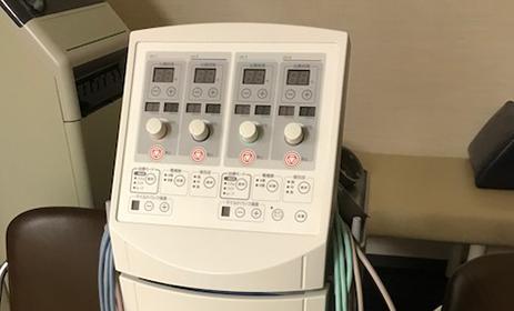 大阪ミナミ 大阪市浪速区の木村整形外科 干渉波治療器